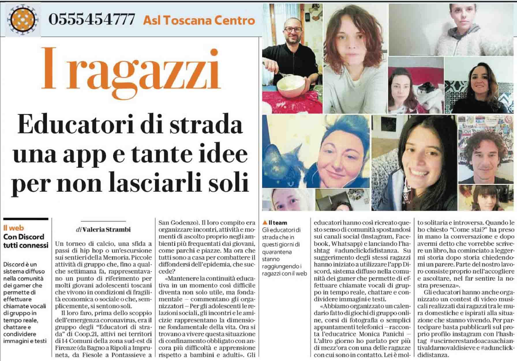 EDS online su Repubblica
