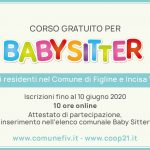 In partenza il corso gratuito per Baby Sitter del Comune di Figline e Incisa Valdarno